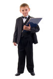 Young Suit Boy. Stock Photo