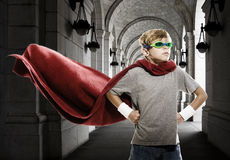 Young Super Hero Royalty Free Stock Image