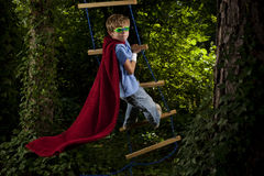 Young Super Hero Royalty Free Stock Photos