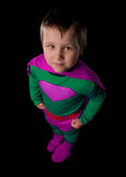 Young Superhero Royalty Free Stock Photos