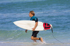 Young Surf Man Stock Photo