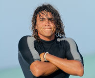 Young surfer Royalty Free Stock Photo