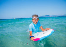 Young surfer girl Royalty Free Stock Photos