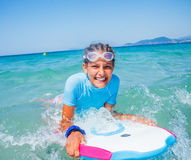 Young surfer girl Royalty Free Stock Photography