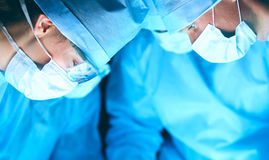 Young surgery team in the operating room.  Stock Image