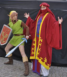 Young swedish cosplayer Royalty Free Stock Photos