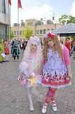 Young swedish cosplayer Royalty Free Stock Photo