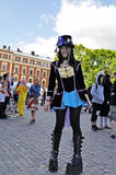Young swedish cosplayer Stock Photography