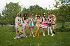 Young swedish cosplayer Royalty Free Stock Images