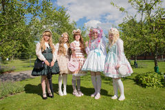 Young swedish cosplayer Stock Images