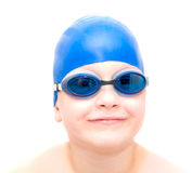 Young swimmer. Royalty Free Stock Image