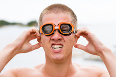 Young swimmer Stock Photo