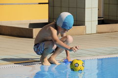 Young swimmer Royalty Free Stock Images