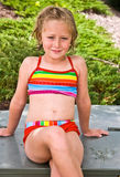Young Swimsuit Model Stock Images