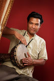 Young Tabla Player Stock Image