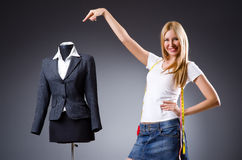 Young tailor Royalty Free Stock Photos