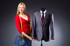 Young tailor Stock Photos