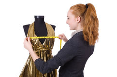 Young tailor Royalty Free Stock Image