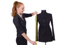 Young tailor Royalty Free Stock Images