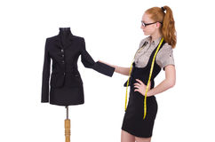 Young tailor Royalty Free Stock Photo