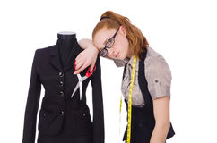 Young tailor Royalty Free Stock Photography