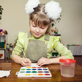 Young talent in a kindergarten Royalty Free Stock Image