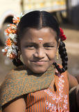 Young Tamil schoolgirl. Royalty Free Stock Images