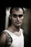 Young tattooed man Stock Images