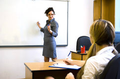 Young teacher Stock Photos