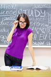 Young teacher Stock Images
