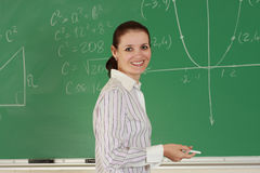 Young teacher Royalty Free Stock Images