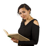 Young Teacher. With a book Stock Images