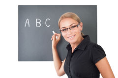 Young teacher portrait Stock Image