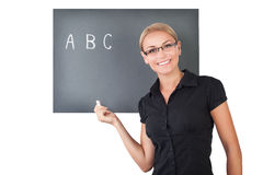 Young teacher portrait Royalty Free Stock Photography