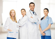 Young team or group of doctors stock photos