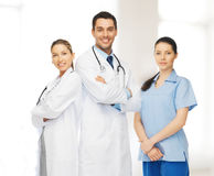 Young team or group of doctors Royalty Free Stock Image