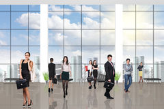 Young team in the office Royalty Free Stock Image