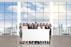Young team in the office Stock Photo