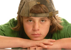 Young teen boy royalty free stock images