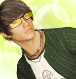 Young teen idol Stock Images