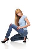 Young teen model Royalty Free Stock Photography