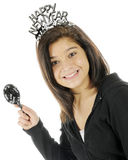 Young Teen's New Year Royalty Free Stock Photography