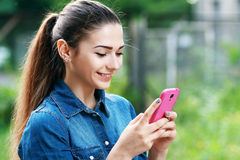 Young teen woman Royalty Free Stock Photo
