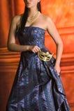Young Teen woman at Masquerade Ball Royalty Free Stock Image
