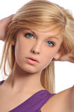 Young teen woman portrait Stock Image