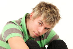 Young teenage boy Royalty Free Stock Photo
