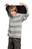 Young teenage boy Royalty Free Stock Photography
