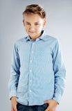 Young teenage boy posing Stock Photo