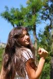 Young teenage girl Royalty Free Stock Image