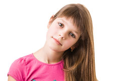 Young teenage girl Stock Images